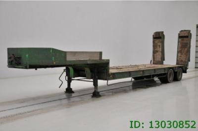 Robuste Kaiser Low bed trailer - spring suspension