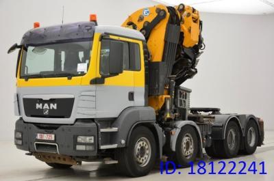 MAN TGS 41.480 - 8x4