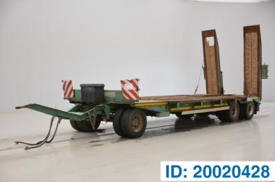 GHEYSEN & VERPOORT Low bed trailer*