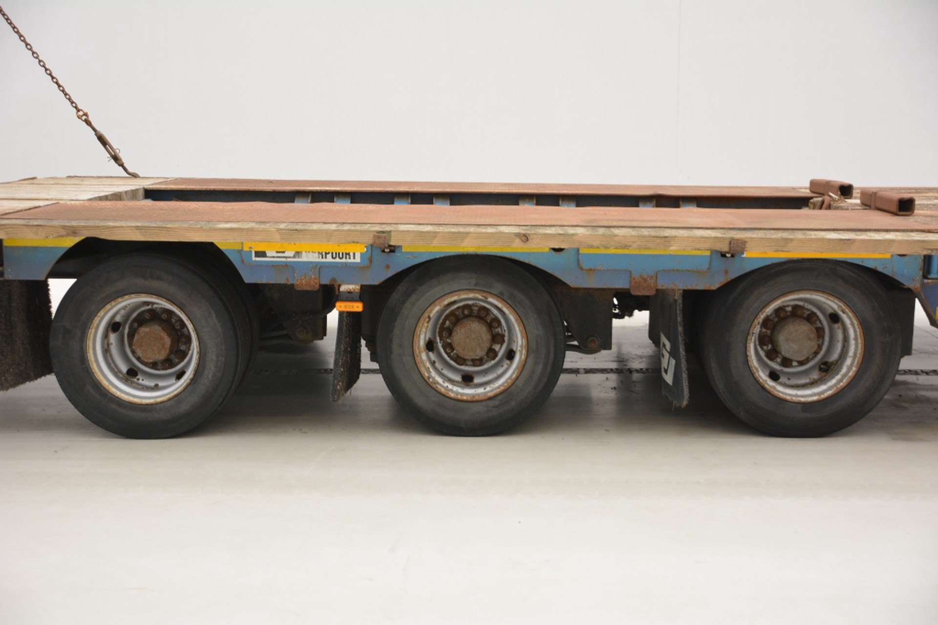 GHEYSEN & VERPOORT Low bed trailer