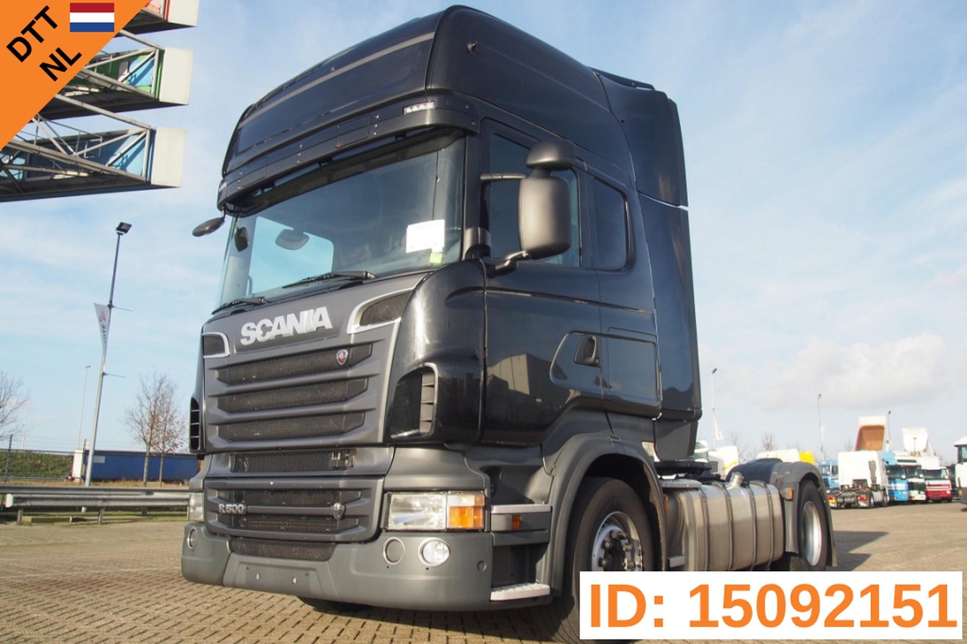 Scania R500 Topline - Retarder