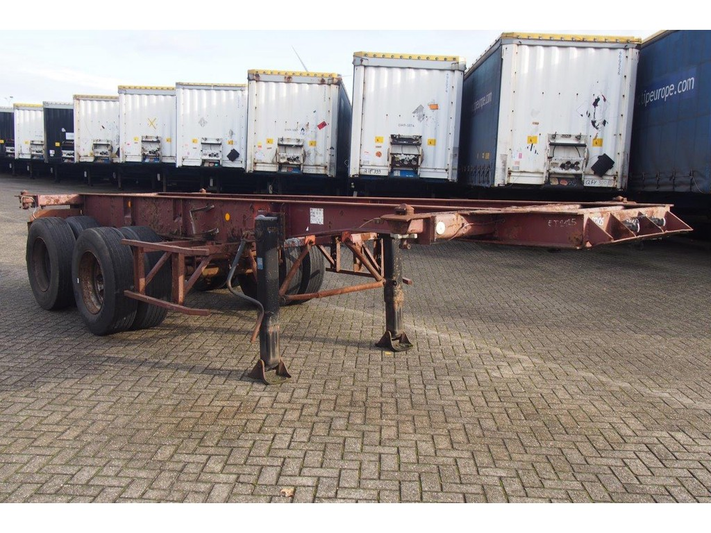 Trailor Skelet 20 ft*
