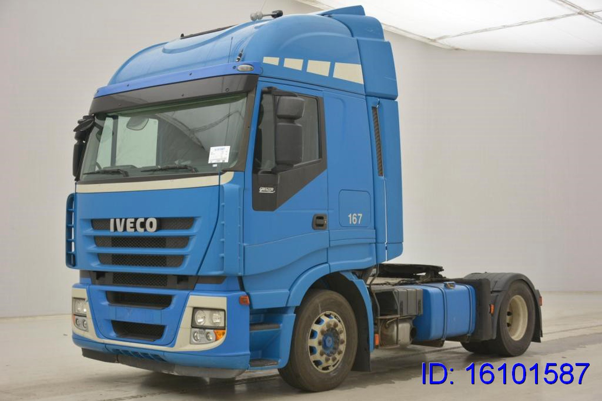Style Visière Iveco Stralis