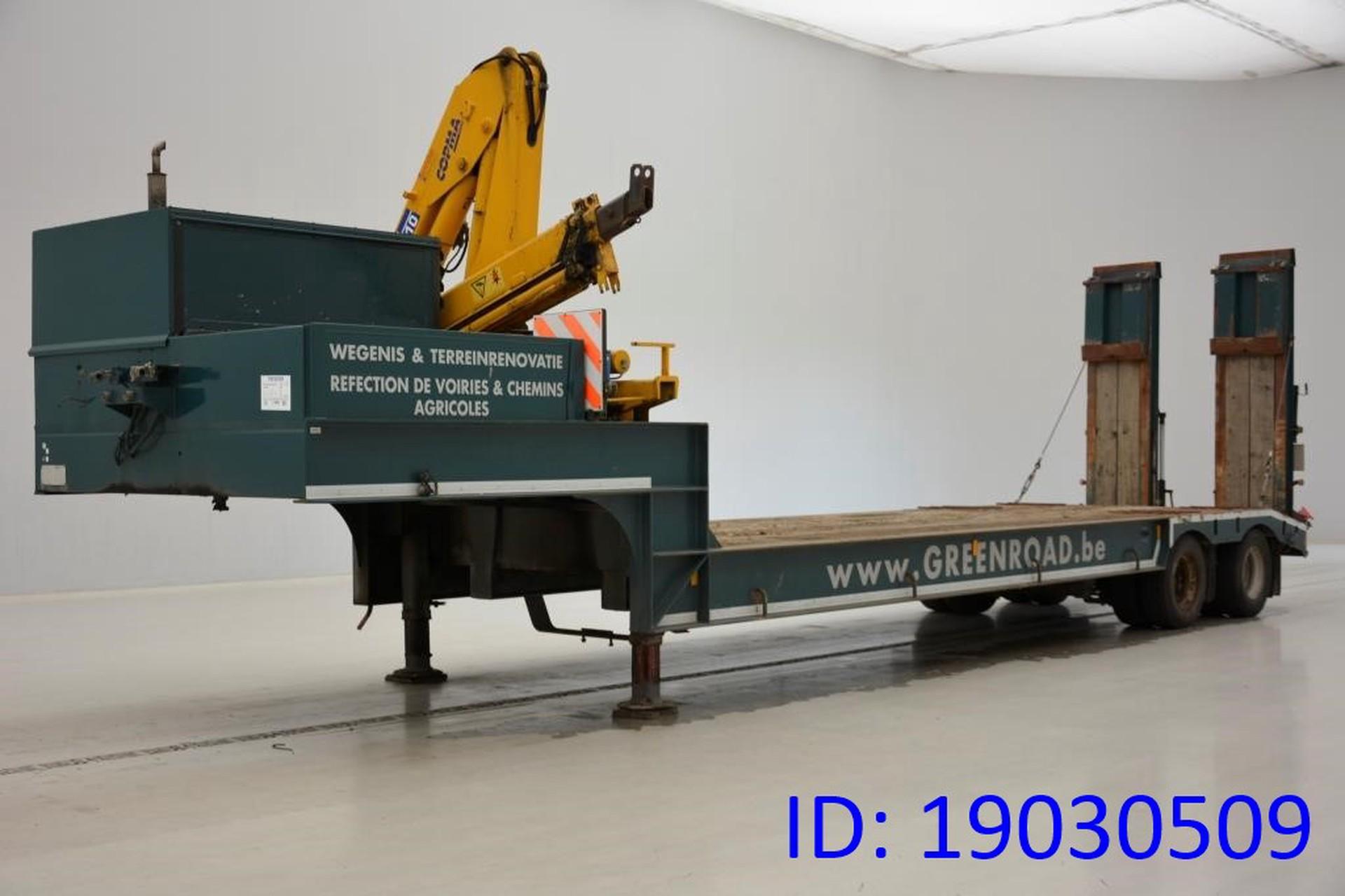 GHEYSEN & VERPOORT Dieplader + kraan