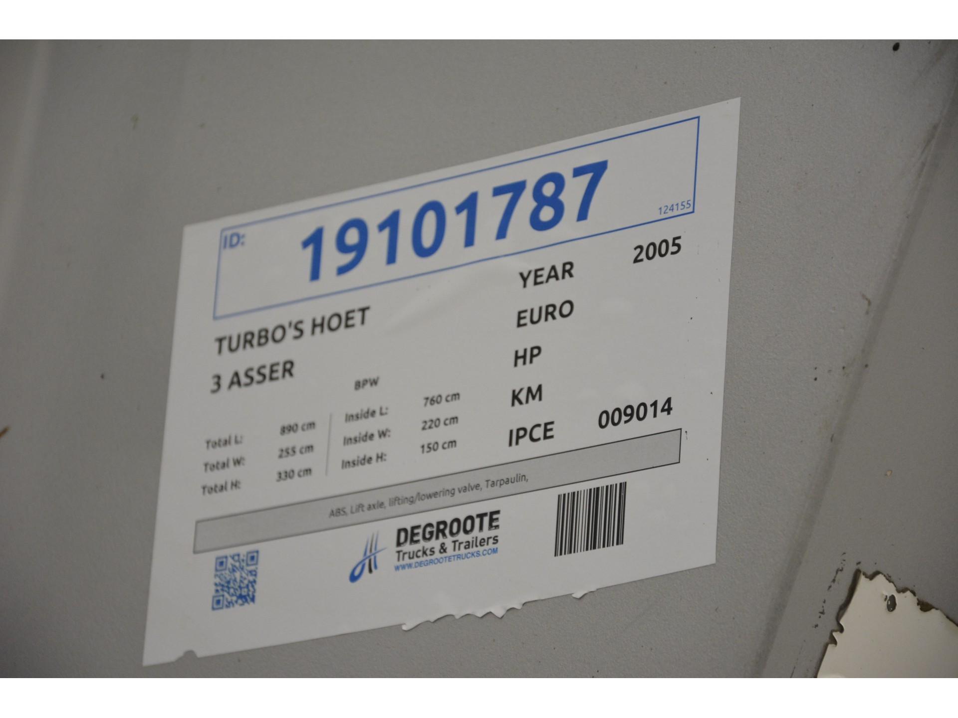 TURBO'S HOET 25 cub in steel