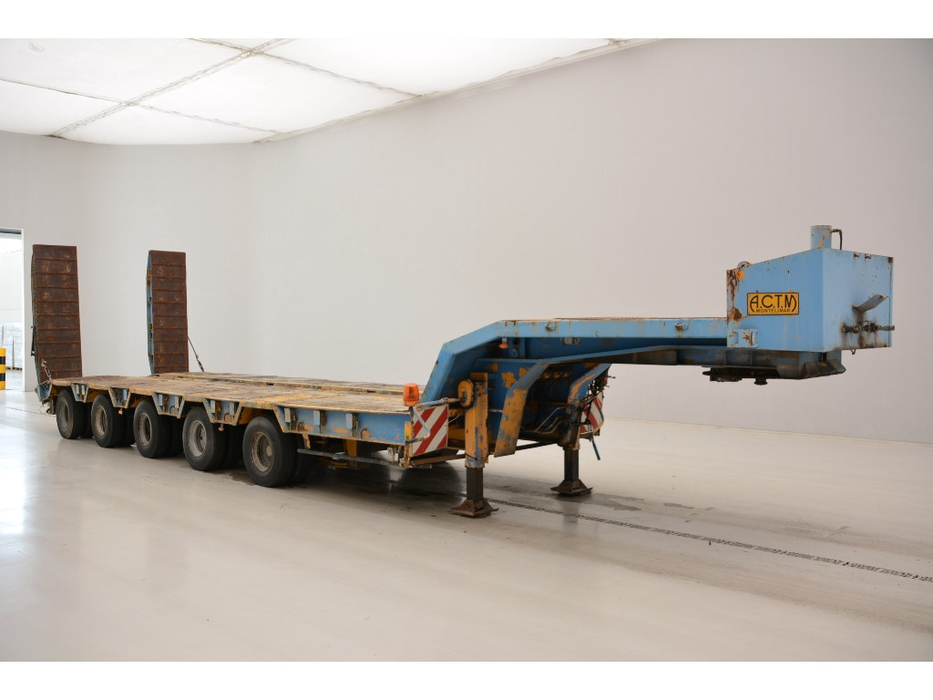 ACTM Low bed trailer