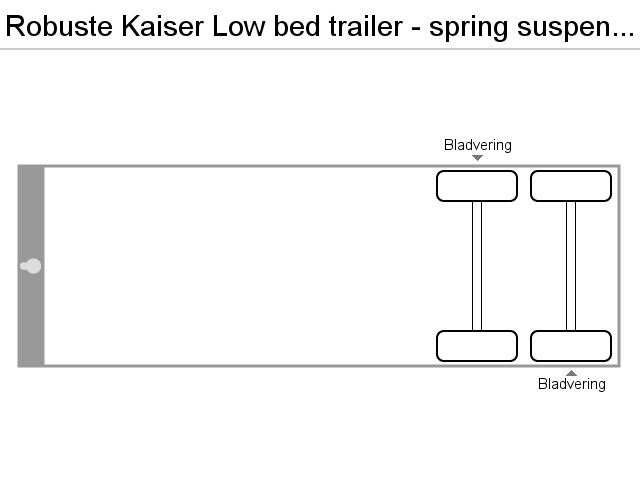 Robuste Kaiser Spring suspension