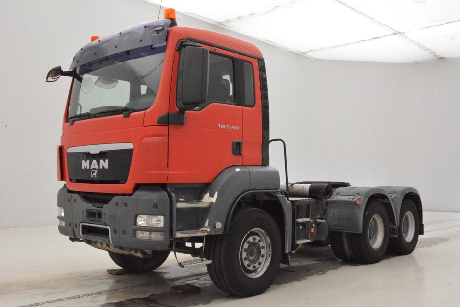 MAN TGS 33.440 - 10 M³ mixer *