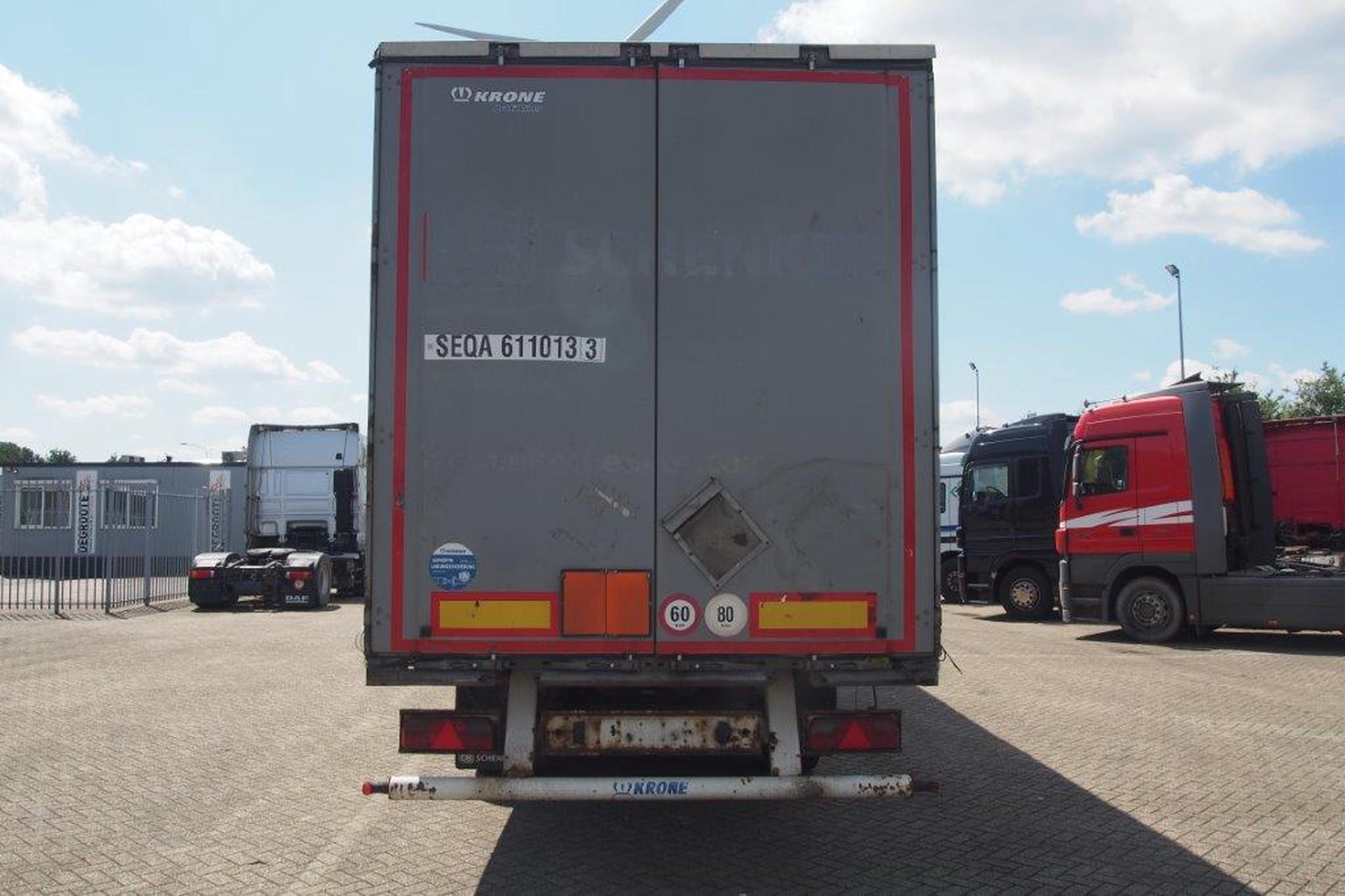 Krone Profi Liner (TIR) - Huckepack