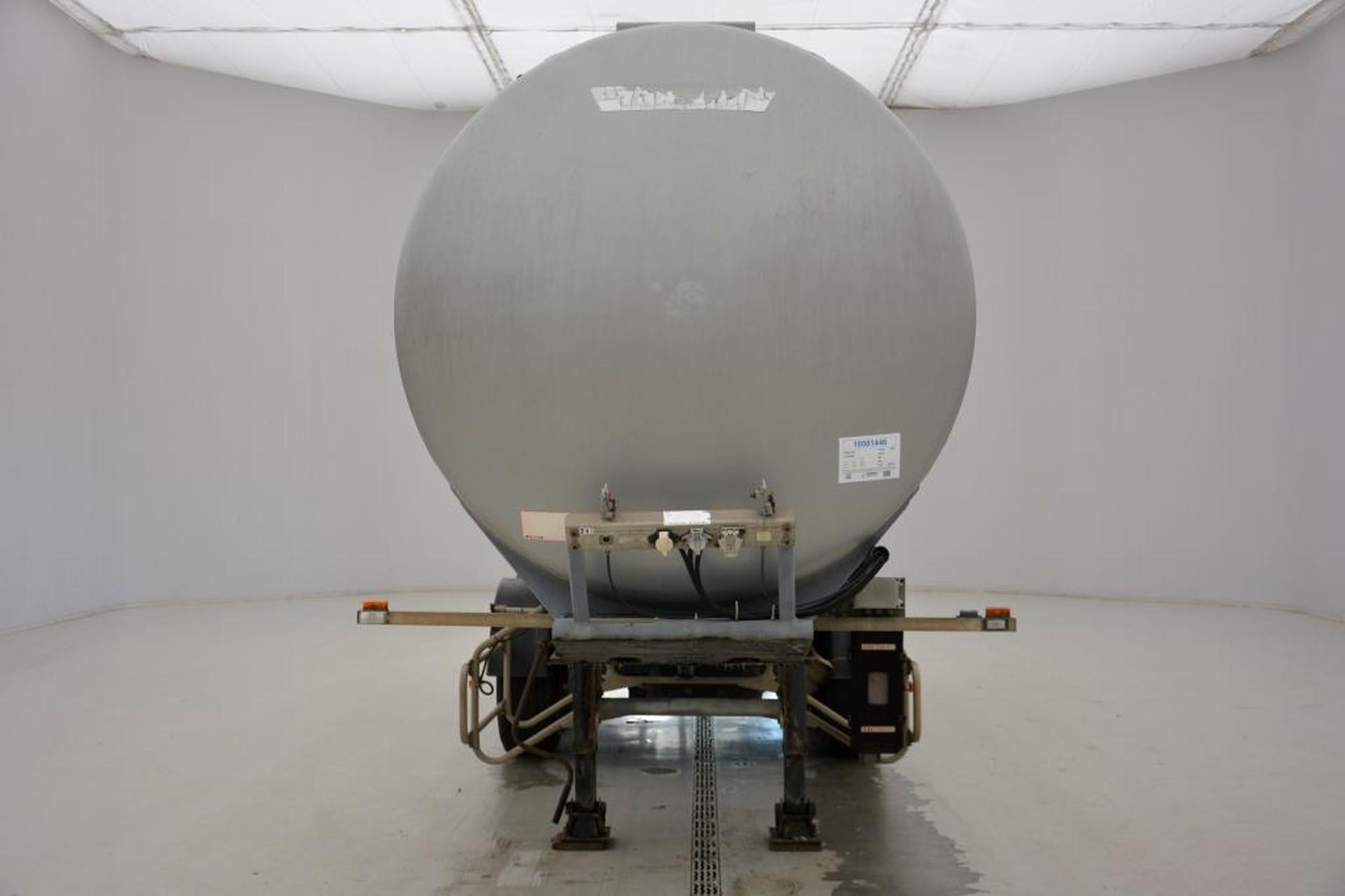 Trailor Tank 38000 liter