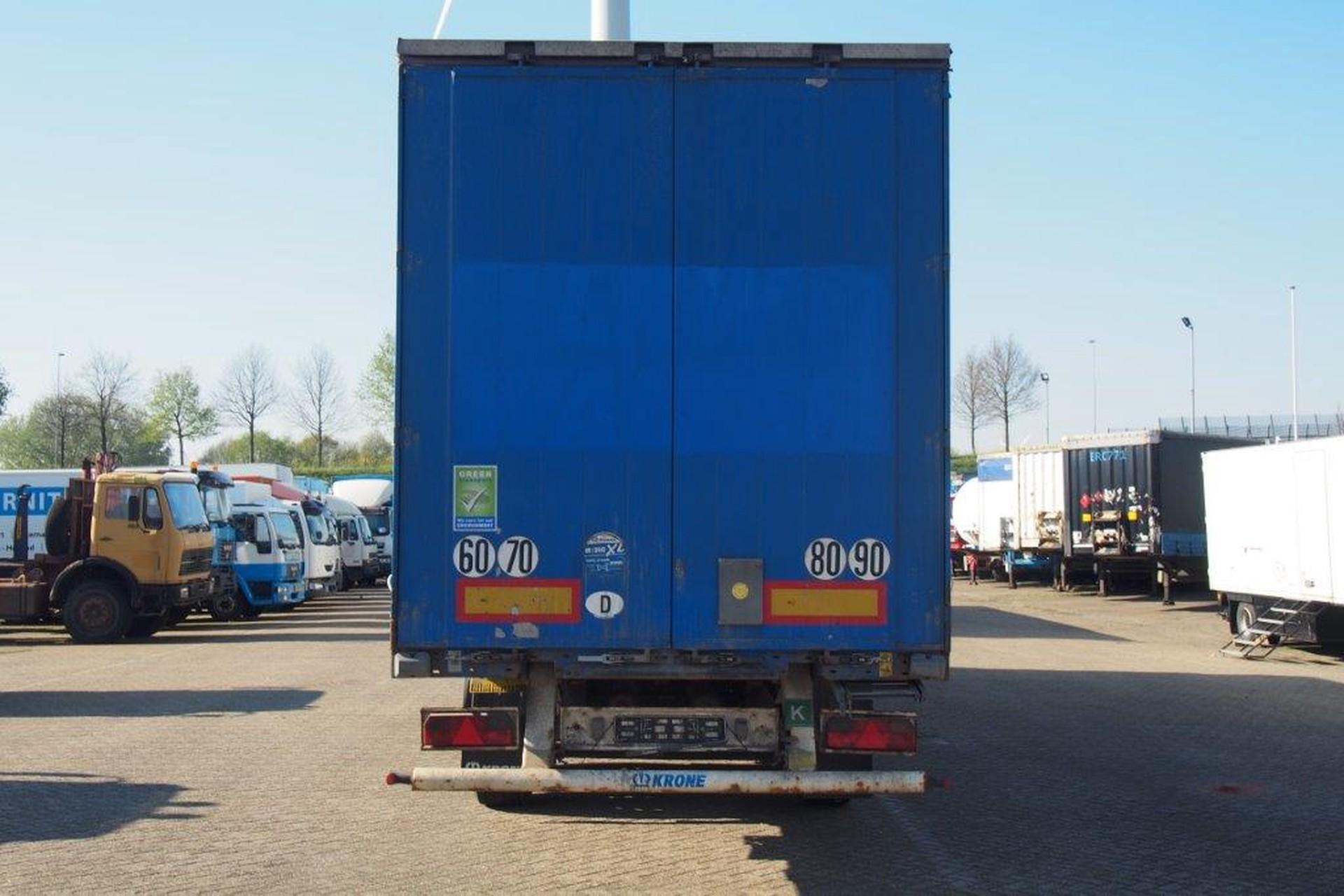 Krone SDP27 Profi Liner, Rong Posts, Huckepack, Ferry hooks
