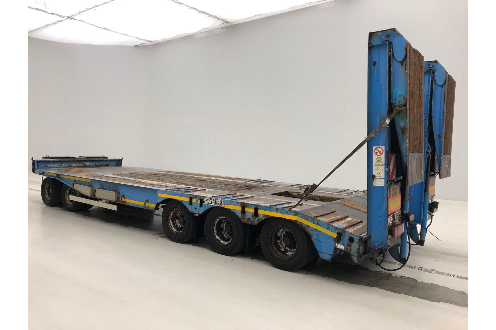 GHEYSEN & VERPOORT Low bed trailer